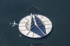 風の塔(東京湾アクアライン)
